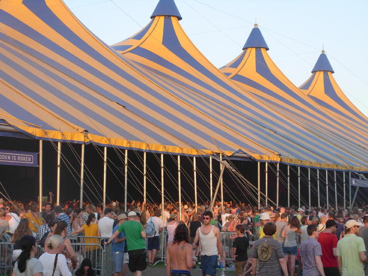 Alpha tent & Lowlands 2012